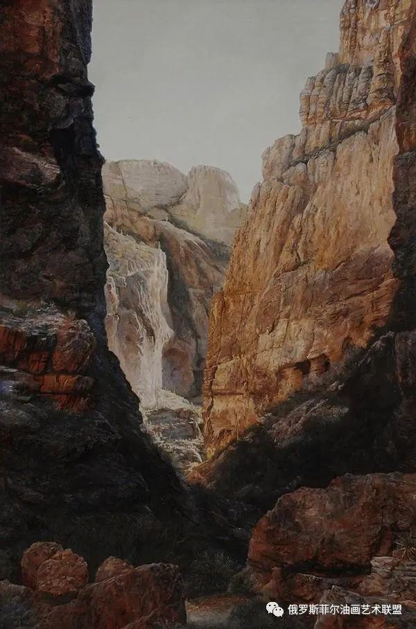 美国画家   李·奥尔本主题系列油画作品赏析插图15