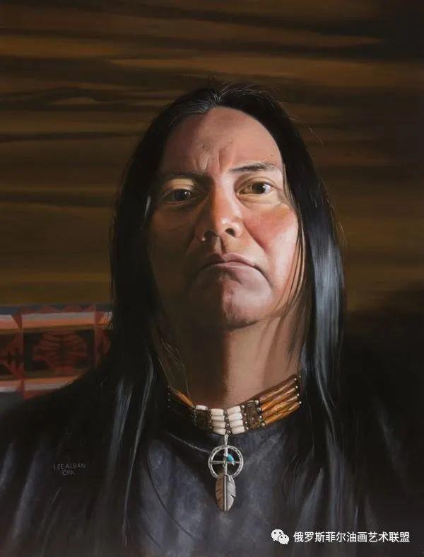 美国画家   李·奥尔本主题系列油画作品赏析插图21