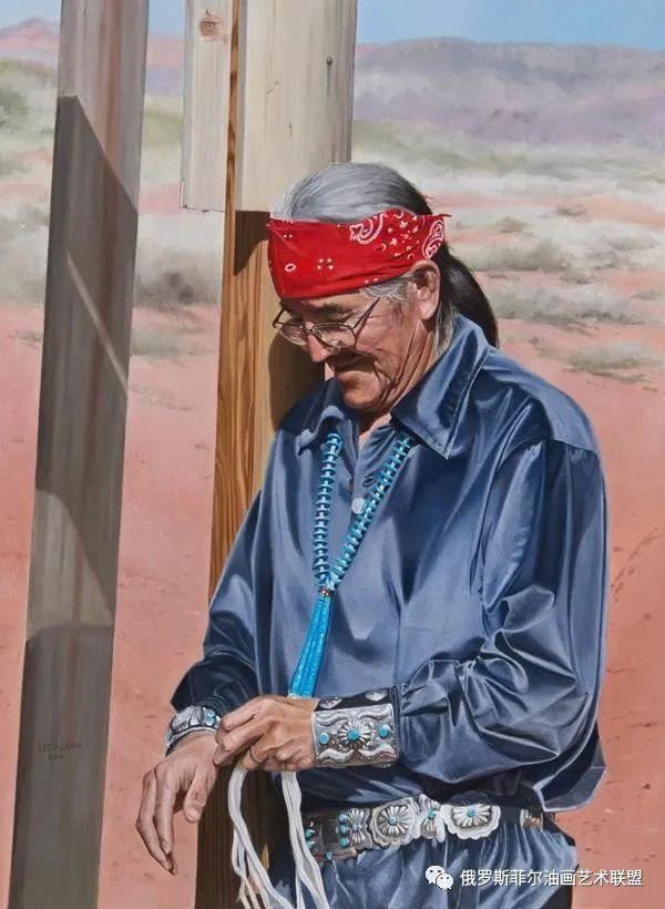 美国画家   李·奥尔本主题系列油画作品赏析插图23