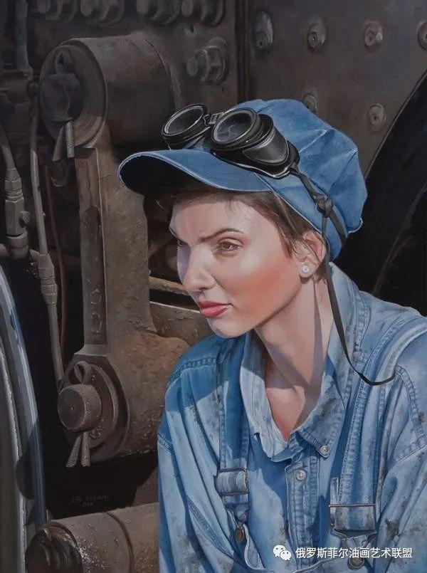 美国画家   李·奥尔本主题系列油画作品赏析插图35