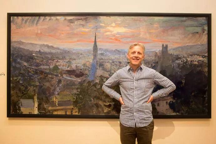 Peter.Brown 油画欧洲街景插图1