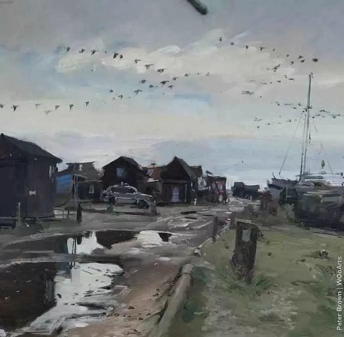 Peter.Brown 油画欧洲街景插图10