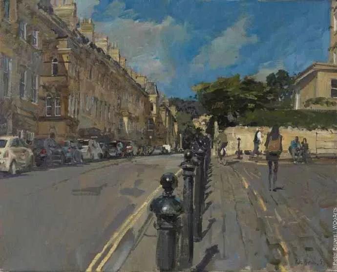 Peter.Brown 油画欧洲街景插图22