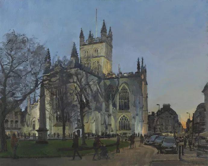 Peter.Brown 油画欧洲街景插图29