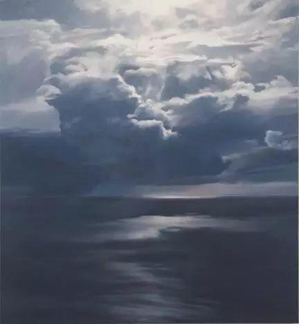 油画风景艺术,暴风雨来袭,美国画家April Gornik的风景画插图5