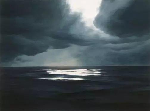 油画风景艺术,暴风雨来袭,美国画家April Gornik的风景画插图15