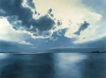 油画风景艺术,暴风雨来袭,美国画家April Gornik的风景画插图23