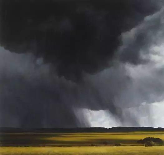 油画风景艺术,暴风雨来袭,美国画家April Gornik的风景画插图33
