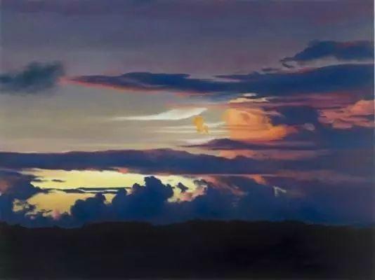 油画风景艺术,暴风雨来袭,美国画家April Gornik的风景画插图35