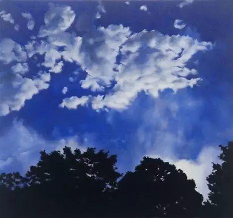 油画风景艺术,暴风雨来袭,美国画家April Gornik的风景画插图37