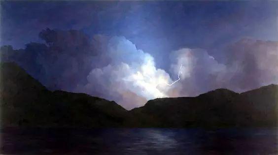 油画风景艺术,暴风雨来袭,美国画家April Gornik的风景画插图39