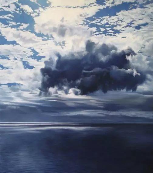 油画风景艺术,暴风雨来袭,美国画家April Gornik的风景画插图41