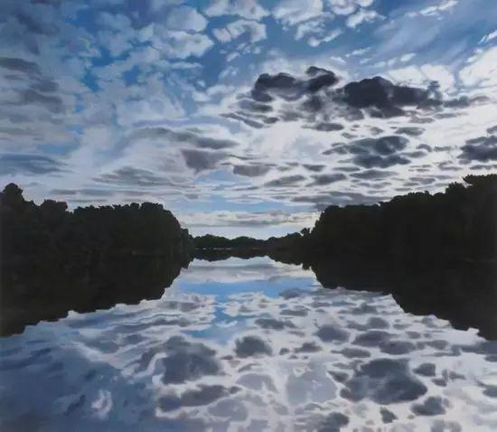 油画风景艺术,暴风雨来袭,美国画家April Gornik的风景画插图45