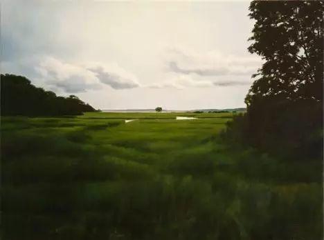 油画风景艺术,暴风雨来袭,美国画家April Gornik的风景画插图49