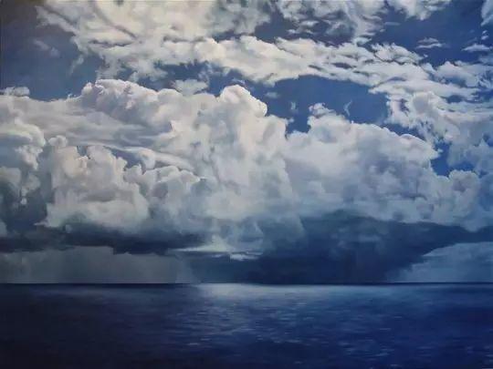 油画风景艺术,暴风雨来袭,美国画家April Gornik的风景画插图61