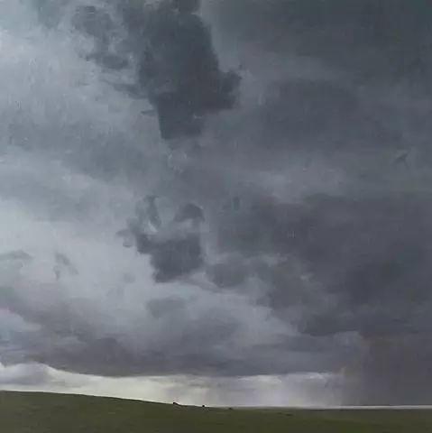 油画风景艺术,暴风雨来袭,美国画家April Gornik的风景画插图63
