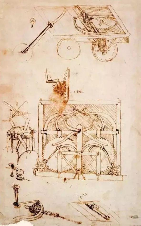 达芬奇的珍贵手稿,你都见过吗?插图135