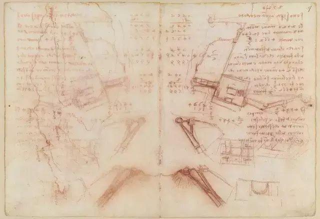 达芬奇的珍贵手稿,你都见过吗?插图195