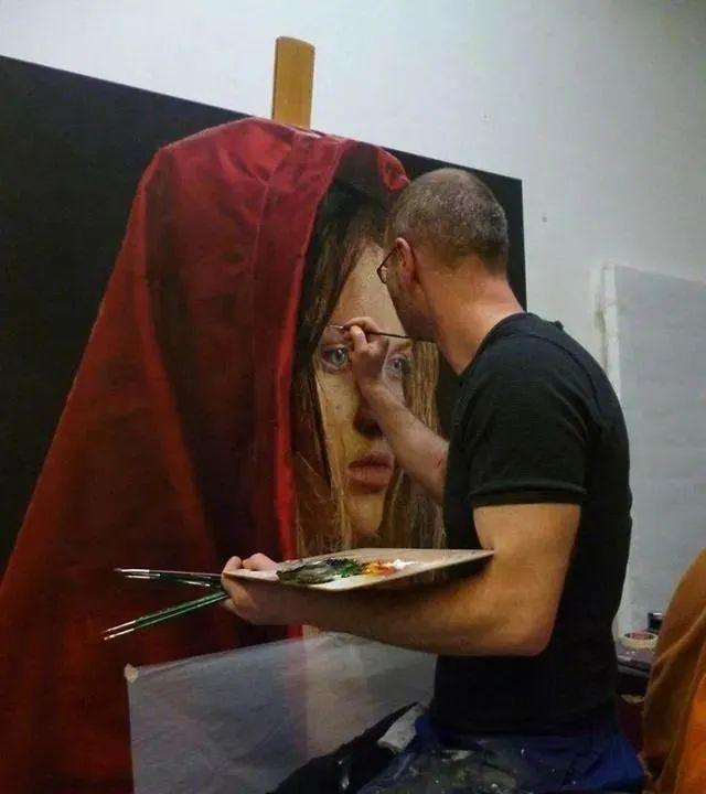 德国画家超写实人物油画,细腻逼真插图8