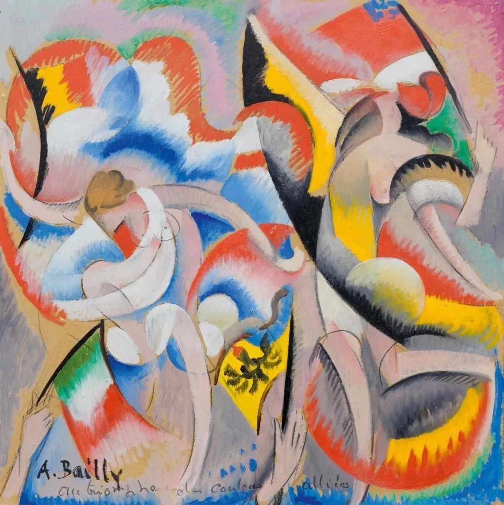 强烈的色彩和粗犷的线条,瑞士先锋派女画家艾丽丝·贝利!插图5