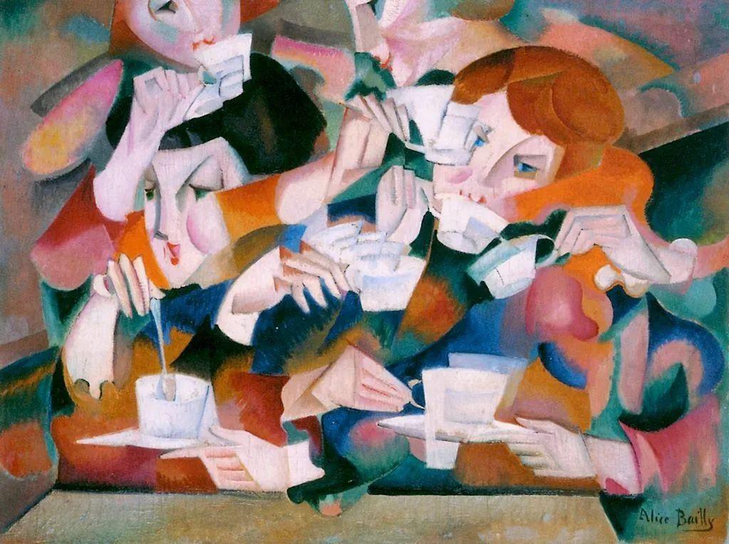 强烈的色彩和粗犷的线条,瑞士先锋派女画家艾丽丝·贝利!插图11