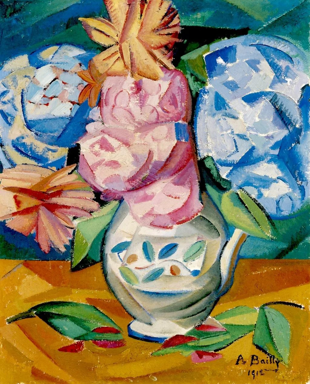 强烈的色彩和粗犷的线条,瑞士先锋派女画家艾丽丝·贝利!插图13