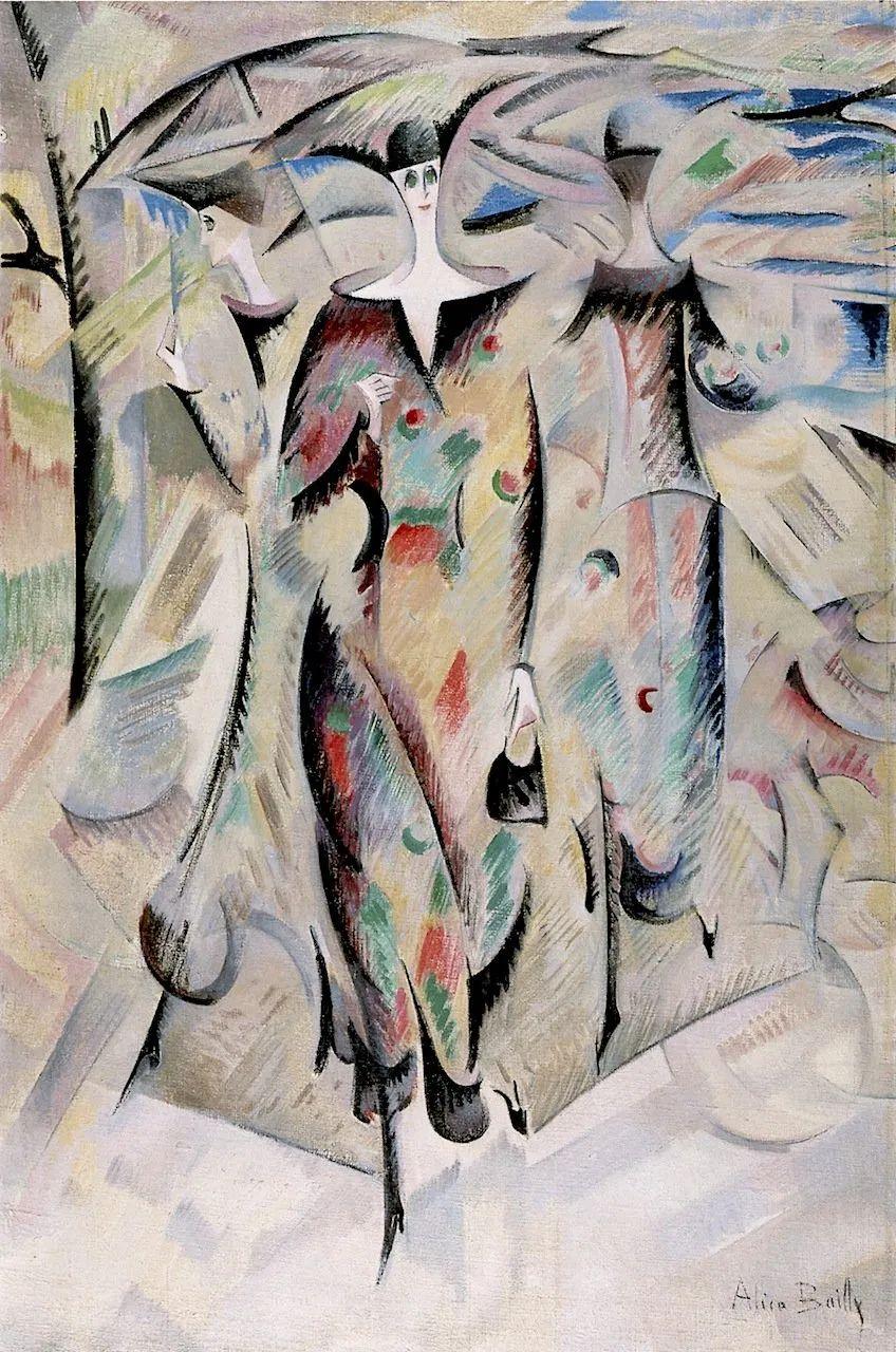 强烈的色彩和粗犷的线条,瑞士先锋派女画家艾丽丝·贝利!插图43