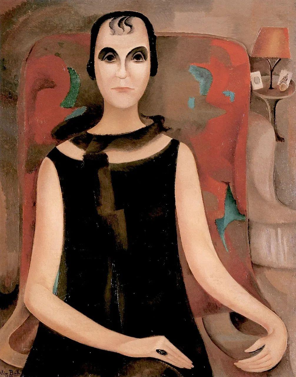 强烈的色彩和粗犷的线条,瑞士先锋派女画家艾丽丝·贝利!插图49