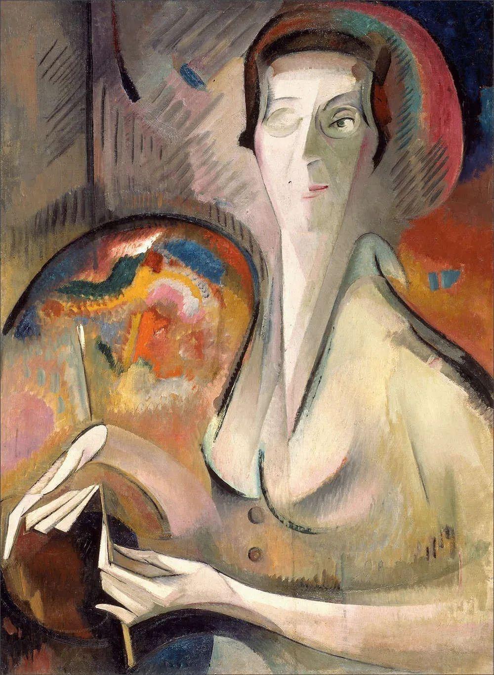 强烈的色彩和粗犷的线条,瑞士先锋派女画家艾丽丝·贝利!插图53