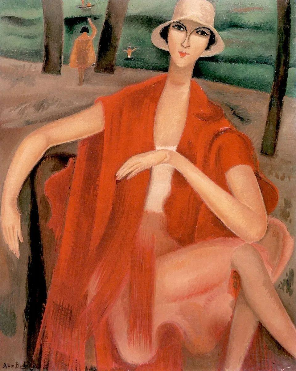 强烈的色彩和粗犷的线条,瑞士先锋派女画家艾丽丝·贝利!插图63