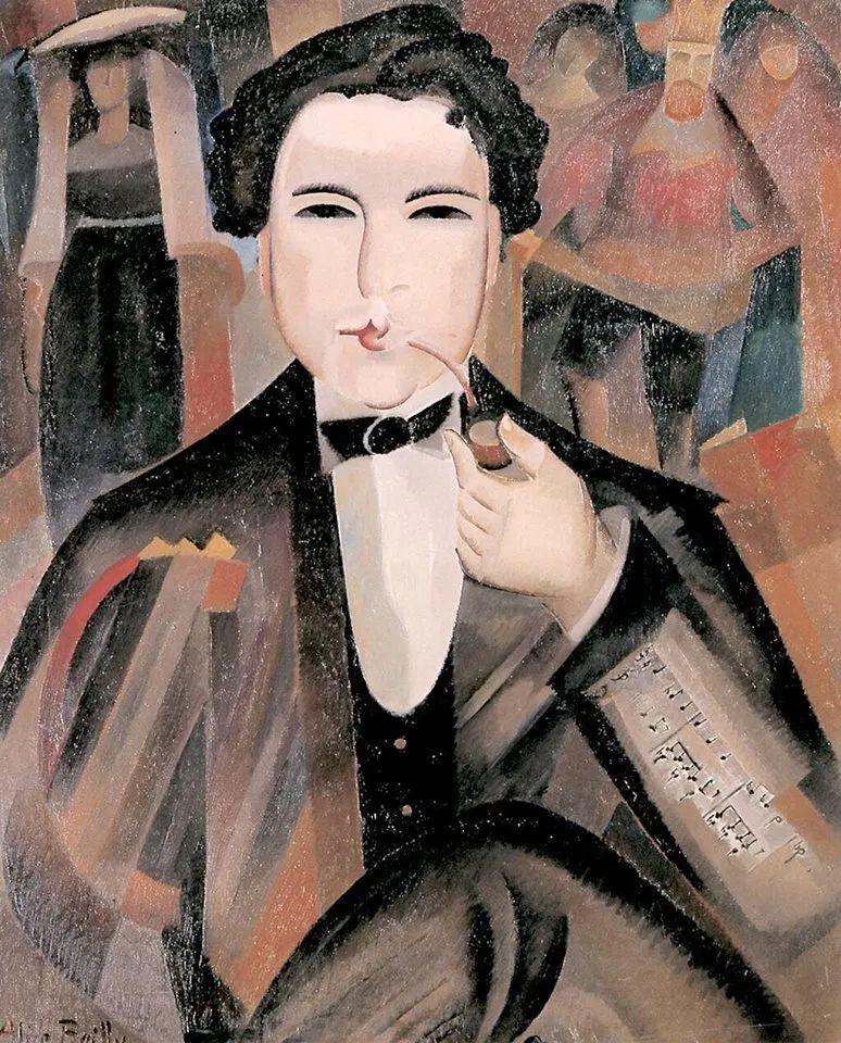 强烈的色彩和粗犷的线条,瑞士先锋派女画家艾丽丝·贝利!插图65