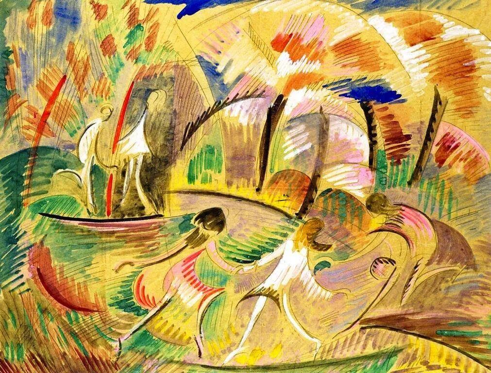 强烈的色彩和粗犷的线条,瑞士先锋派女画家艾丽丝·贝利!插图75
