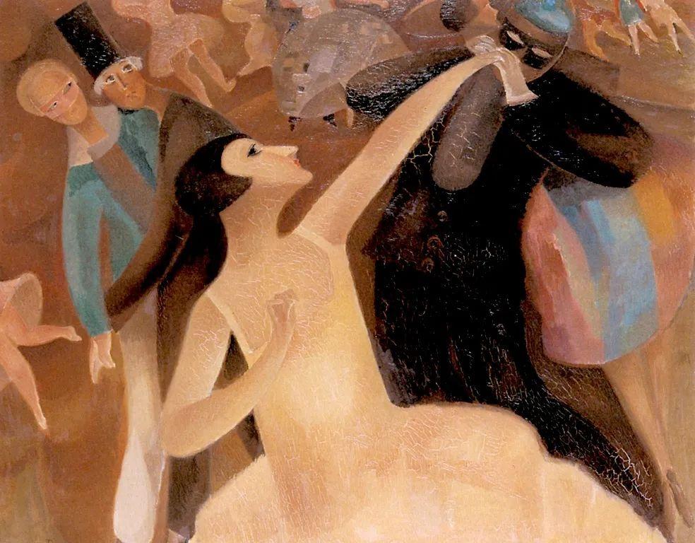 强烈的色彩和粗犷的线条,瑞士先锋派女画家艾丽丝·贝利!插图77