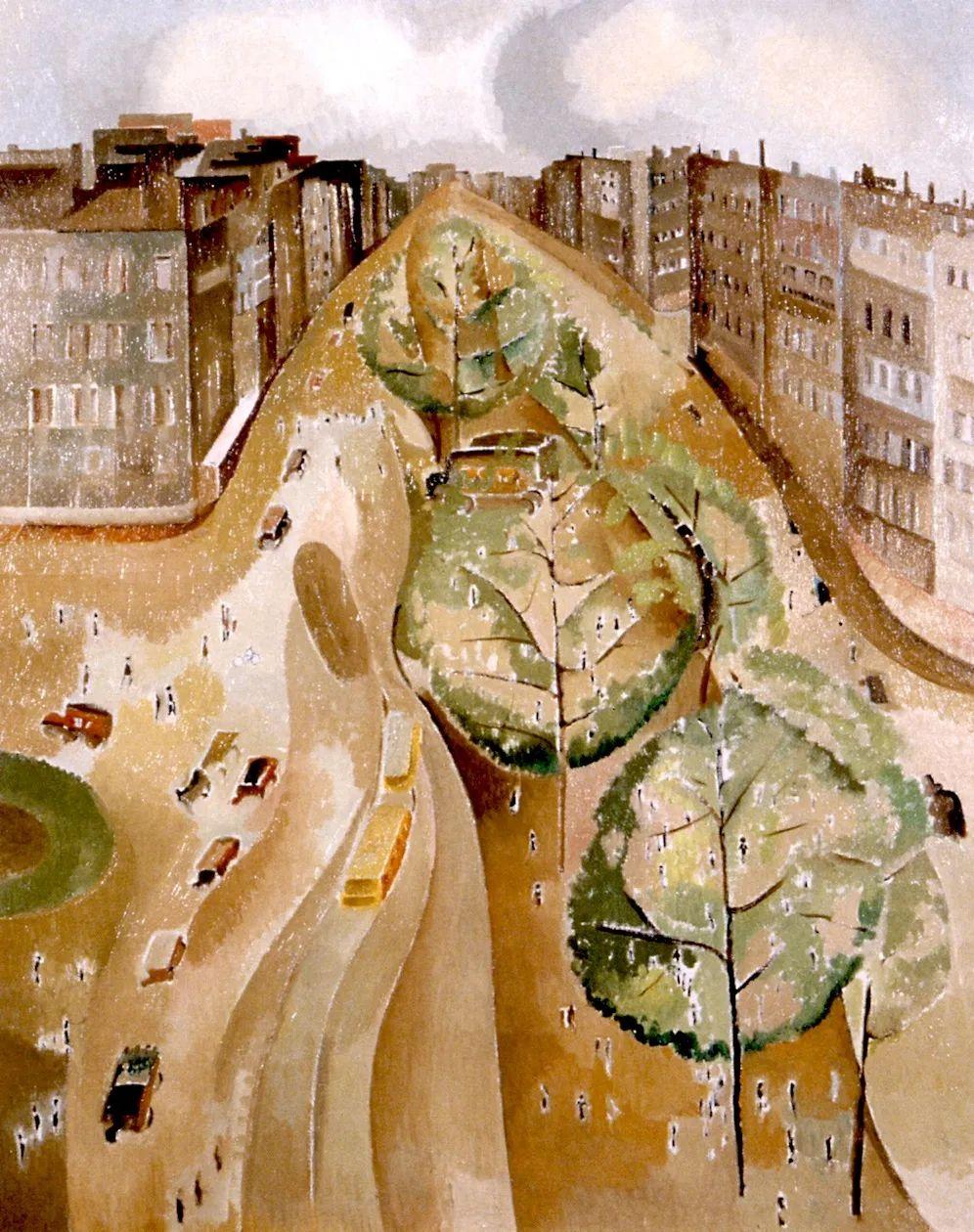 强烈的色彩和粗犷的线条,瑞士先锋派女画家艾丽丝·贝利!插图81
