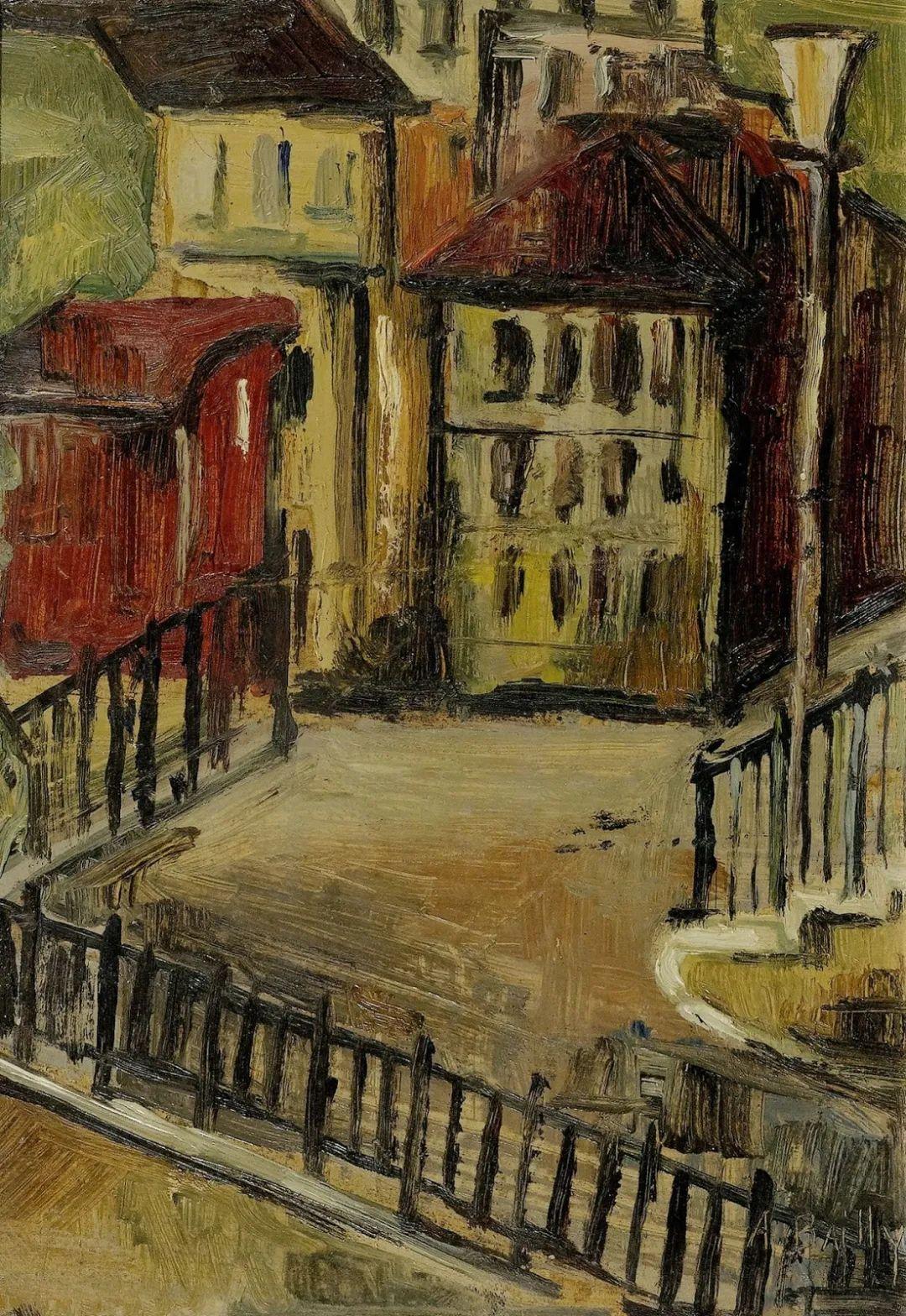 强烈的色彩和粗犷的线条,瑞士先锋派女画家艾丽丝·贝利!插图87