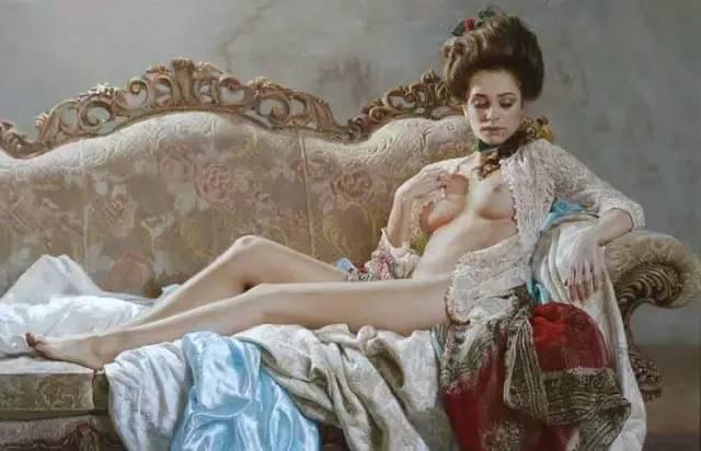 俄罗斯女画家画的作品,真实细腻插图2