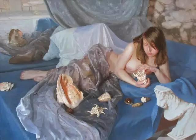 俄罗斯女画家画的作品,真实细腻插图5