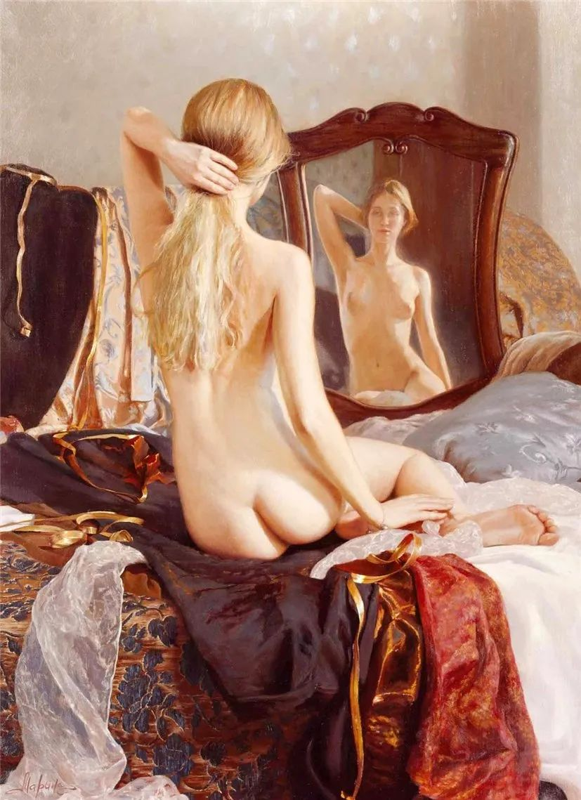 俄罗斯女画家画的作品,真实细腻插图6