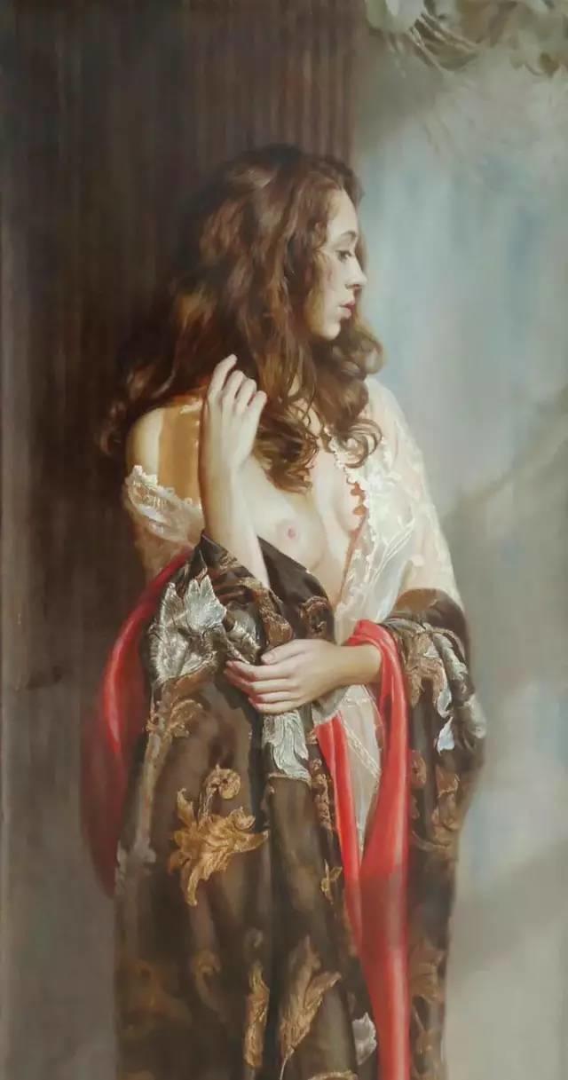 俄罗斯女画家画的作品,真实细腻插图12