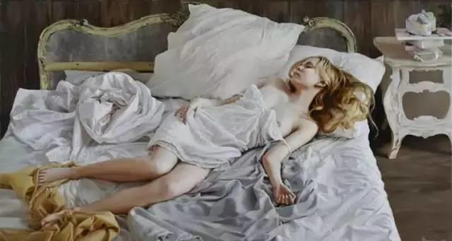 俄罗斯女画家画的作品,真实细腻插图15