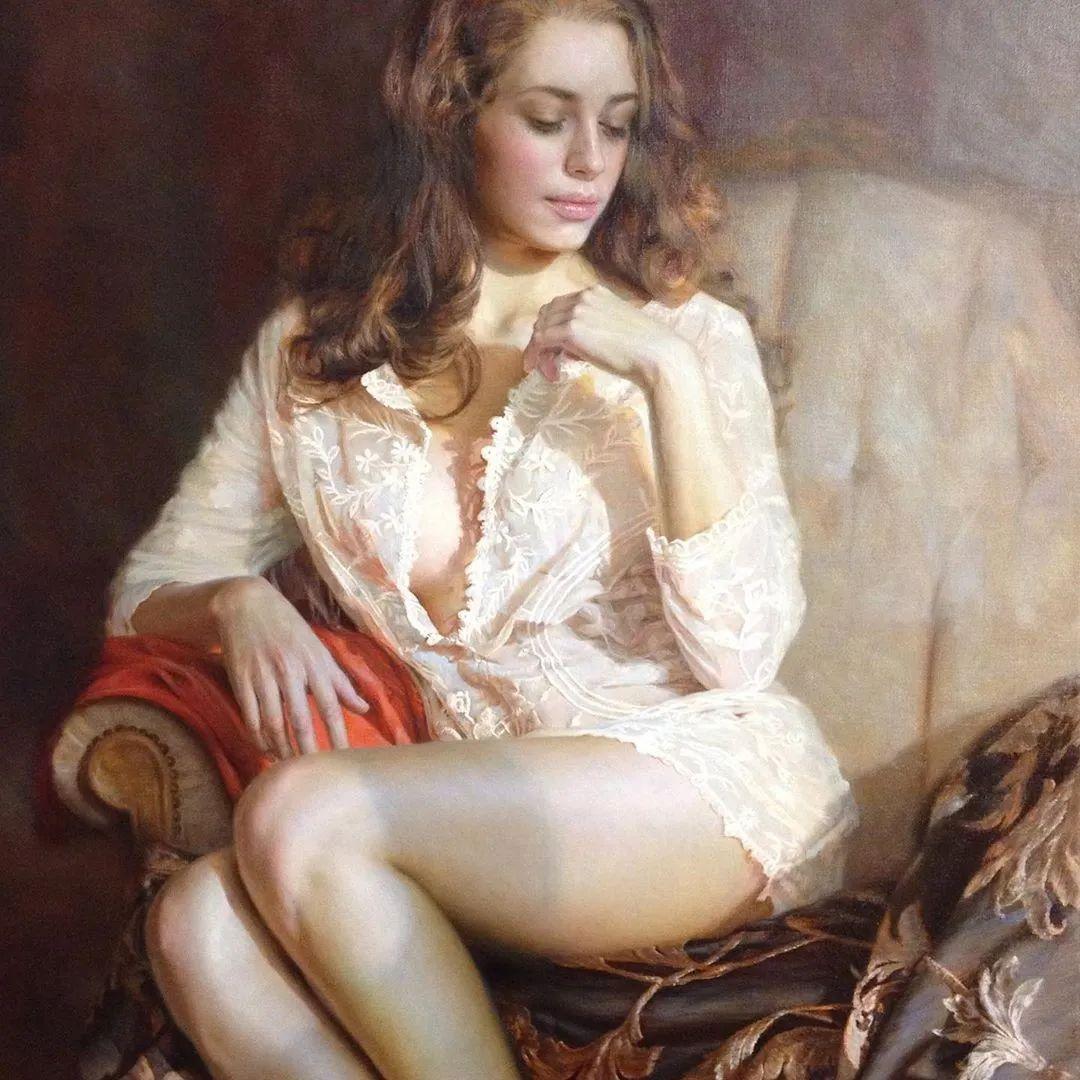 俄罗斯女画家画的作品,真实细腻插图17