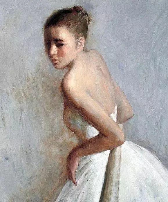 看画家邱瑞敏笔下美院的模特插图7
