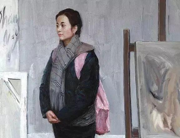 看画家邱瑞敏笔下美院的模特插图15