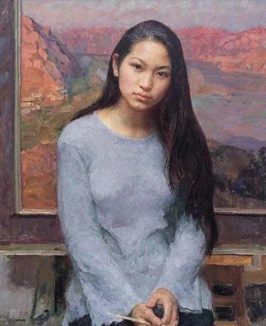 看画家邱瑞敏笔下美院的模特插图39