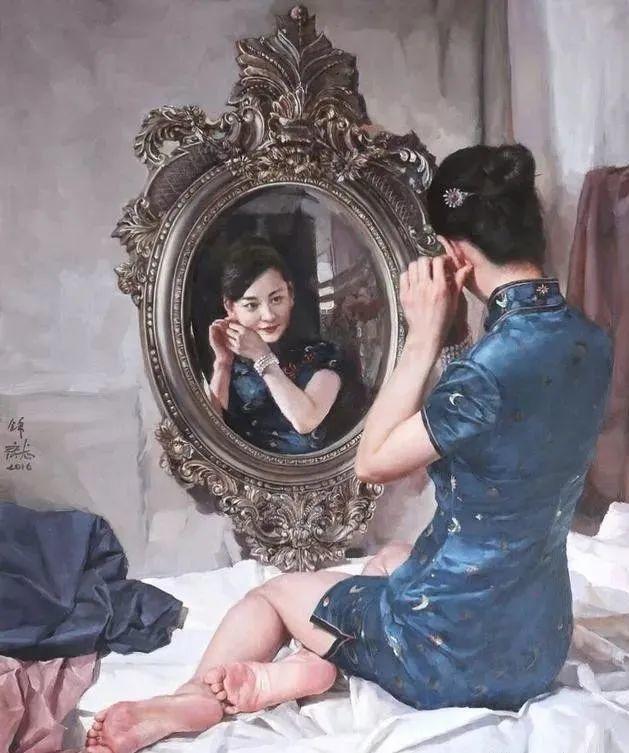 看画家邱瑞敏笔下美院的模特插图45