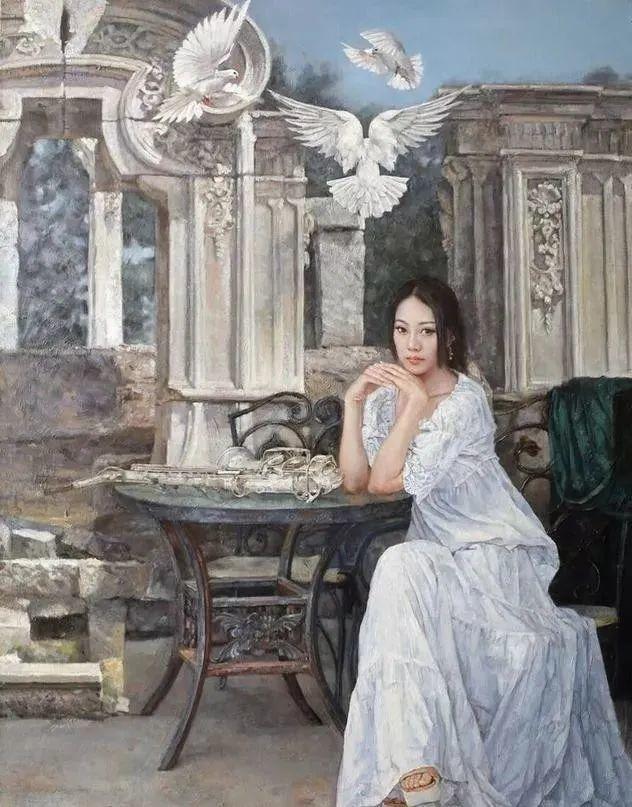 看画家邱瑞敏笔下美院的模特插图47