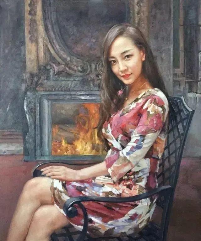 看画家邱瑞敏笔下美院的模特插图57
