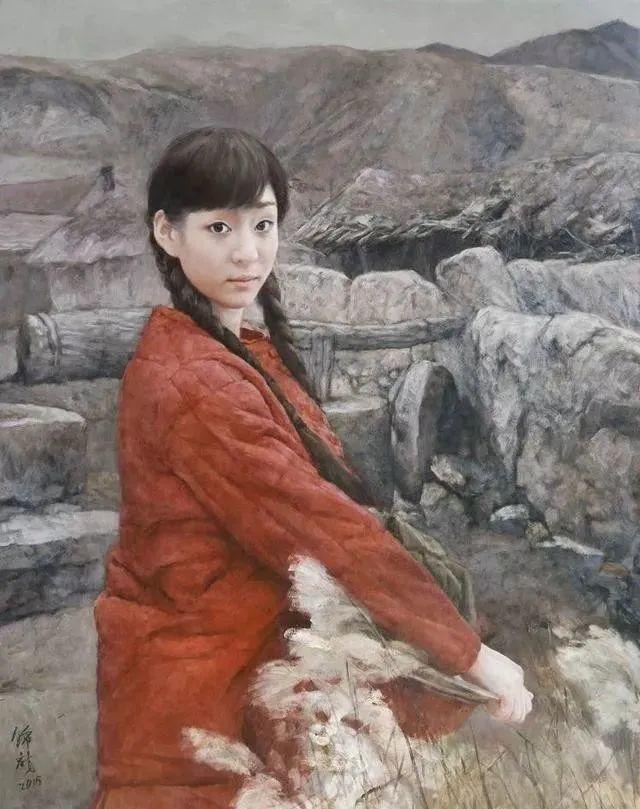 看画家邱瑞敏笔下美院的模特插图63