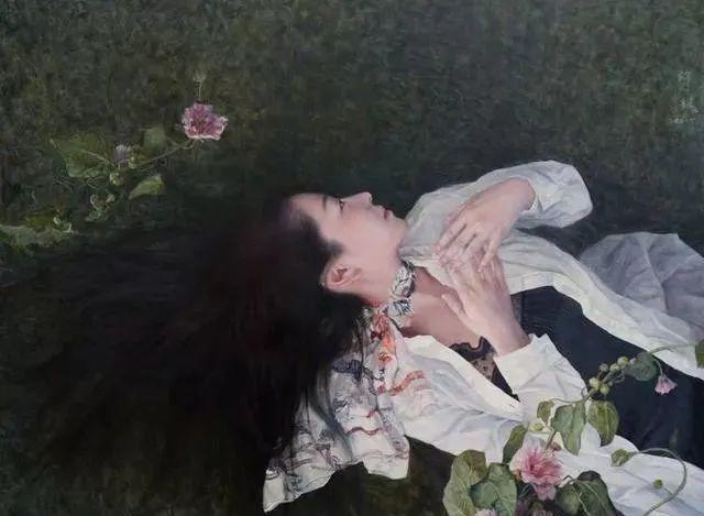 看画家邱瑞敏笔下美院的模特插图65