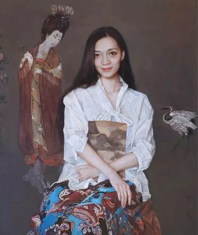 看画家邱瑞敏笔下美院的模特插图77